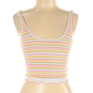 NWT Forever 21 Cropped Tank Multi Colors
